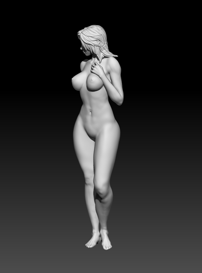 5.jpg Download STL file Fitgirl Sexy Posing • Template to 3D print, NSFW_Station