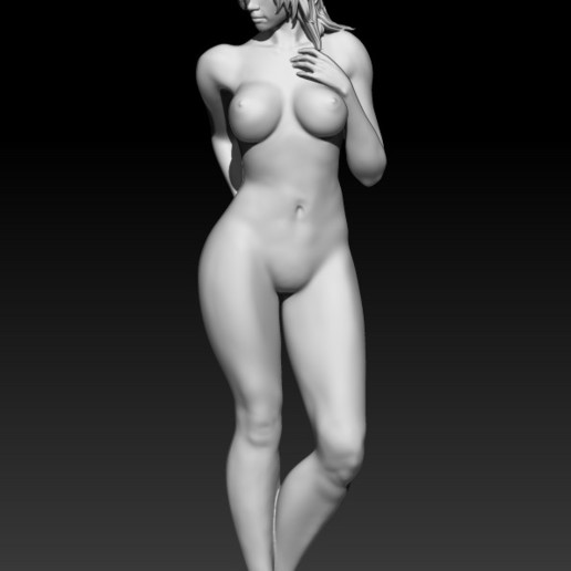 1.jpg Download STL file Fitgirl Sexy Posing • Template to 3D print, NSFW_Station