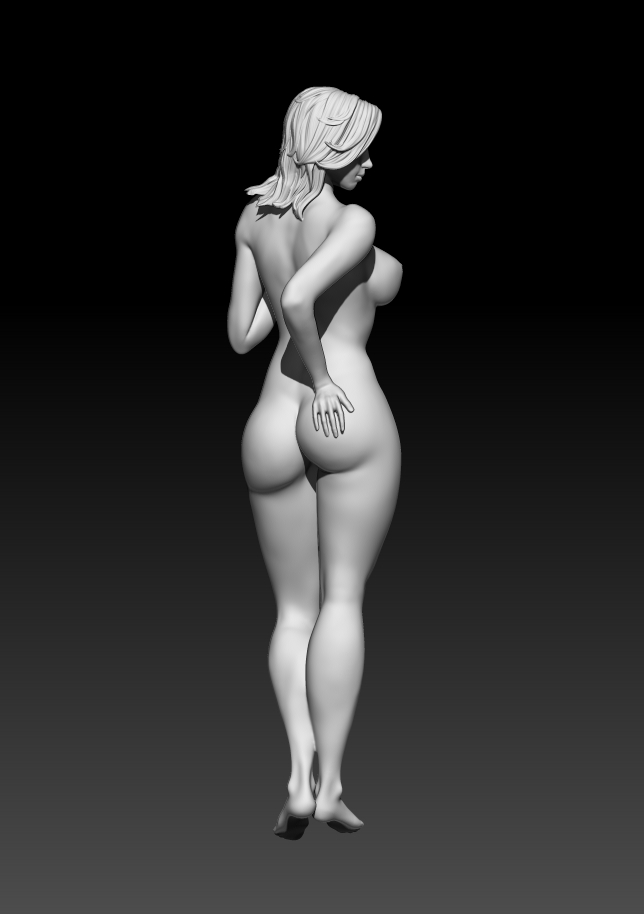 3.jpg Download STL file Fitgirl Sexy Posing • Template to 3D print, NSFW_Station