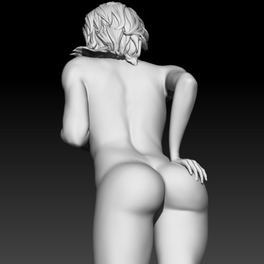 8.jpg Download STL file Fitgirl Sexy Posing • Template to 3D print, NSFW_Station