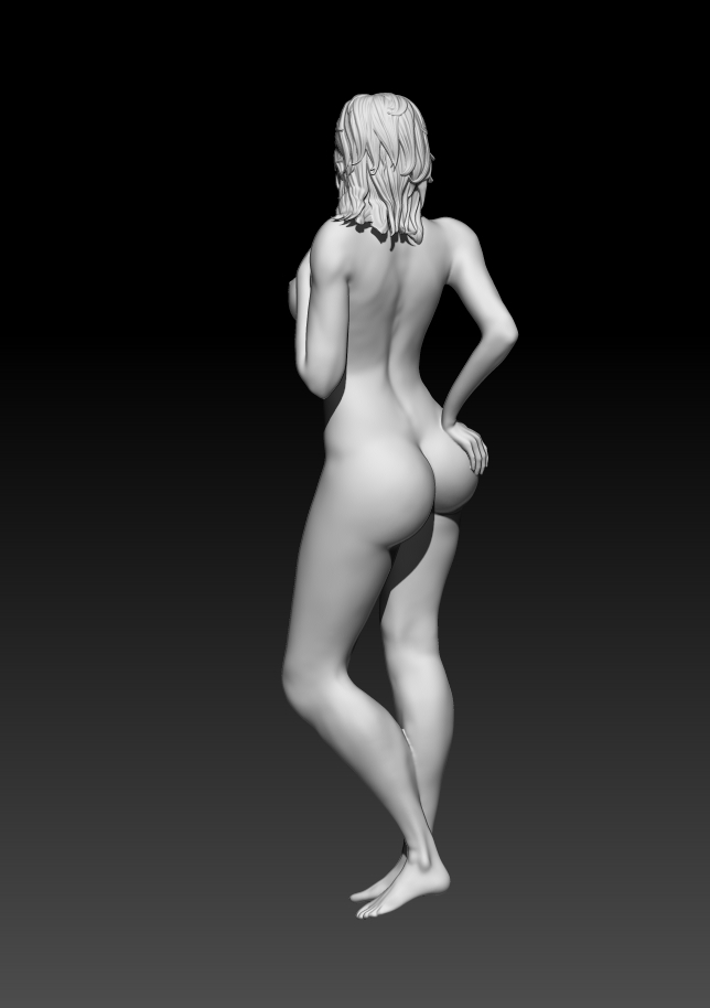 4.jpg Download STL file Fitgirl Sexy Posing • Template to 3D print, NSFW_Station