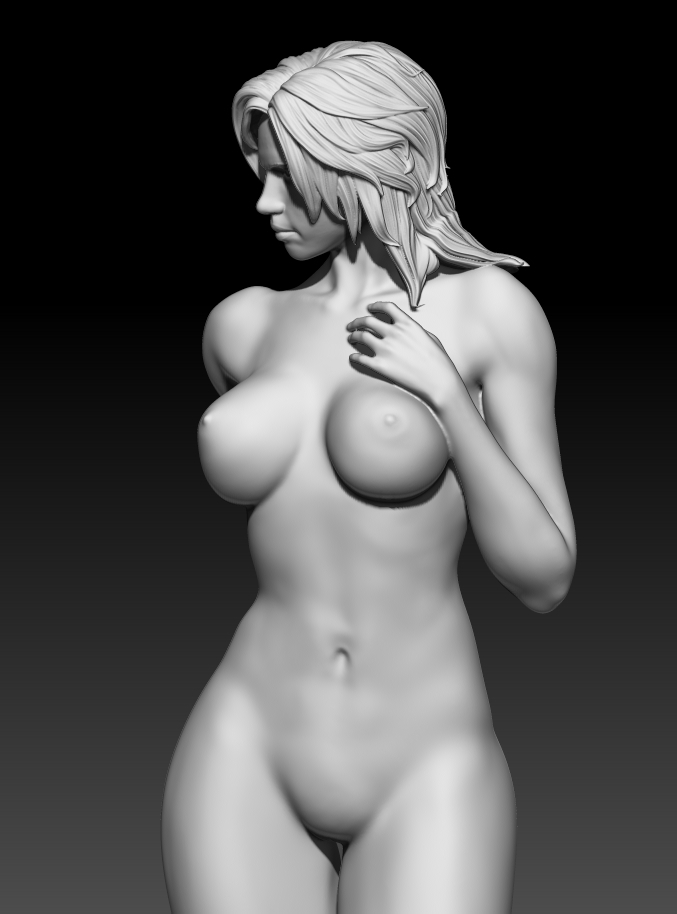 6.jpg Download STL file Fitgirl Sexy Posing • Template to 3D print, NSFW_Station