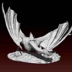 1.jpg Télécharger fichier STL Bête tombée • Plan à imprimer en 3D, LiamMorgan