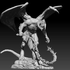 2.jpg Télécharger fichier STL Balrog • Design à imprimer en 3D, LiamMorgan