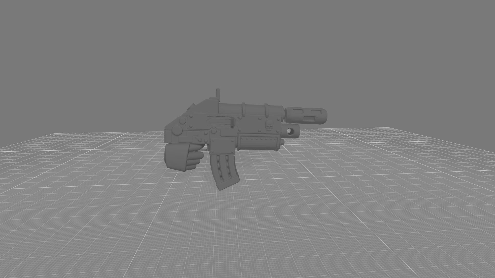 CombiBolter Melta.jpg Download free STL file Destructive Toolbox of the Order of Alien Hunting Crusaders • 3D printer design, DropoutPraxis
