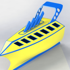 barco2.png Download STL file futuristic boat • 3D print model, engricardo