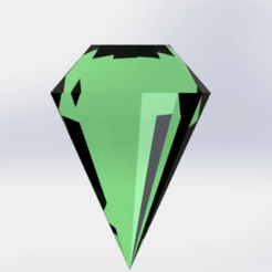d1.png Download free STL file Green Diamond • Design to 3D print, engricardo