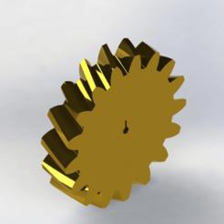 Sem 33.png Télécharger fichier STL engrenage hélicoïdal • Plan imprimable en 3D, engricardo
