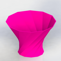 vaso2.png Download STL file  flower pot • 3D printable object, engricardo