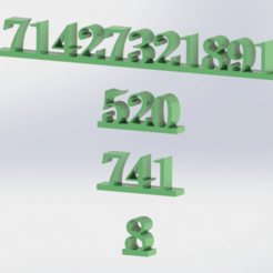 Sem título22.png Download STL file grabovoi numbers of prosperity • 3D printer template, engricardo