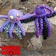 Polish_20201116_134046779.jpg Download STL file Flexi JellyFish • 3D printing model, BirdBott