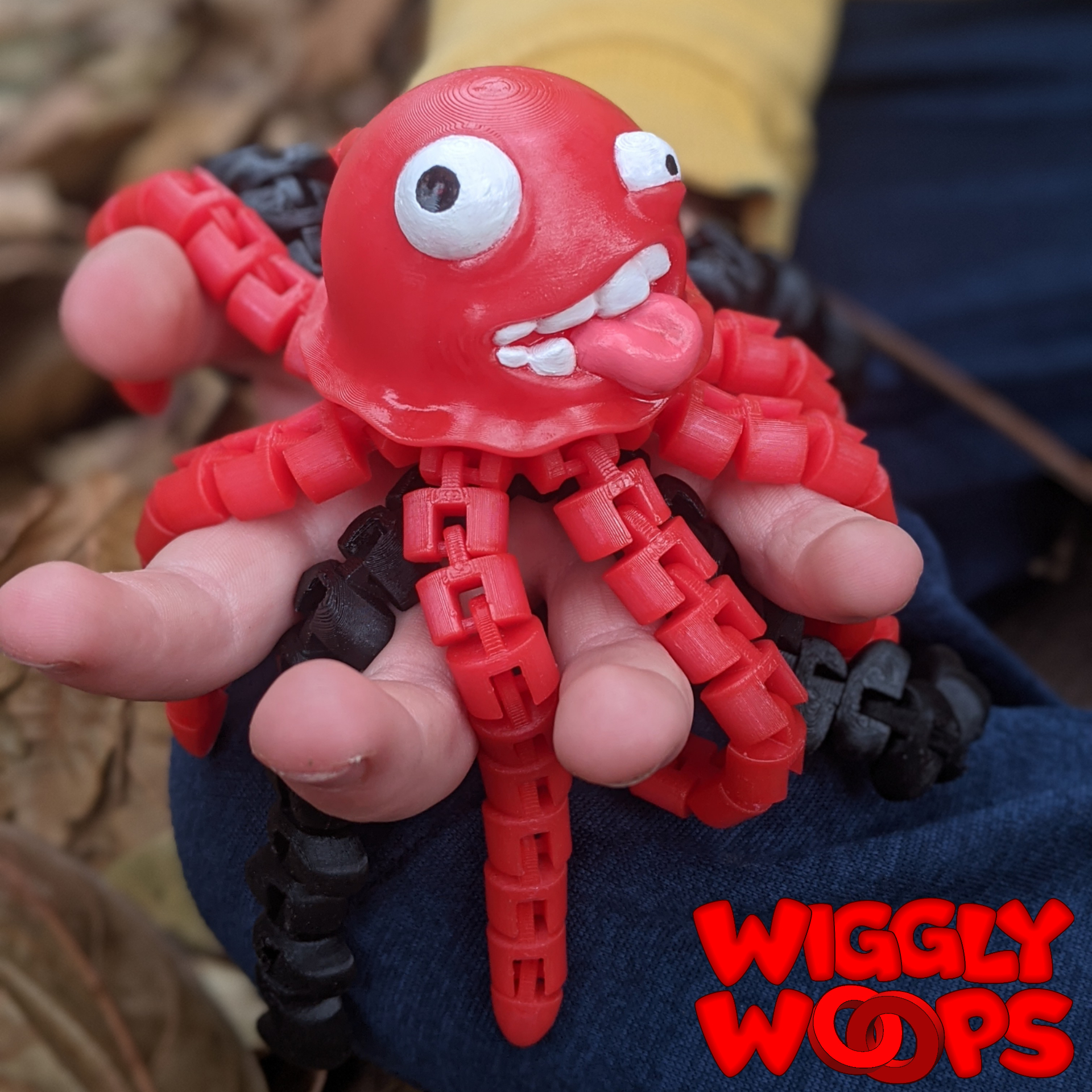 Polish_20201107_105253623.jpg Download STL file Flexi JellyFish • 3D printing model, BirdBott