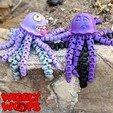 Polish_20201116_133920941.jpg Download STL file Flexi JellyFish • 3D printing model, BirdBott