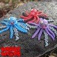 Polish_20201107_154600797 (1)-min.jpg Download STL file Flexi JellyFish • 3D printing model, BirdBott