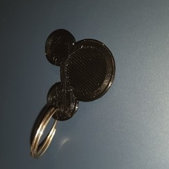 20201002_170737.jpg Download free STL file Mickey Keychain • Template to 3D print, cerezoalexandre