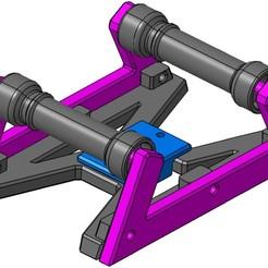 Bild_1.jpg Télécharger fichier STL gratuit Massiv Spool Holder • Objet imprimable en 3D, LionMars92
