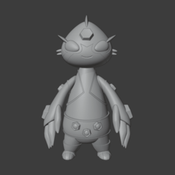 1.png Download STL file BEN 10 DITTO • 3D printing model, NaiFigures