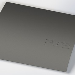 PS3 fat - slim like skin cover.JPG Télécharger fichier STL PS3 fat - Slim like top cover • Plan imprimable en 3D, Rhobain