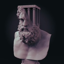 1.jpg Download STL file Ancient statue with a Modern and Surreal Twist • 3D printer design, socrates_z