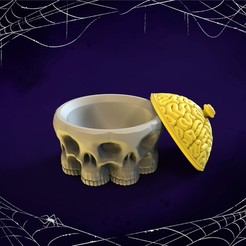 11.jpg Download STL file Halloween bowl for candies • 3D printable template, socrates_z