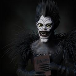 render1.jpg Download STL file Death Note • Model to 3D print, socrates_z