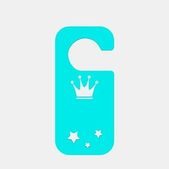 12.jpg Download STL file PLATE FOR DOOR KNOB CHILDREN • Model to 3D print, Laureano_