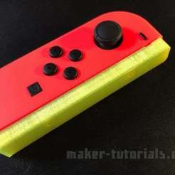 nintendo-switch-joy-con-rail-1.jpg Download free STL file Nintendo Switch Joy-Con Controller Mount Rail • Object to 3D print, Bendim