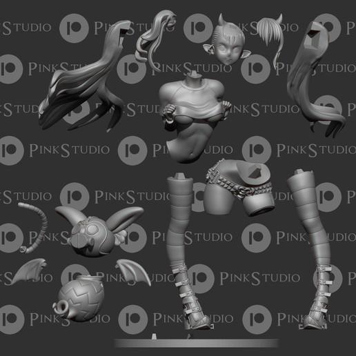 r3ma.jpg Download free STL file Sin Nanatsu no Taizai - Leviathan • 3D printable design, PinkStudio