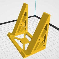 Soporte.JPG Download STL file Smartphone Support • Template to 3D print, jorgeomaro