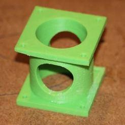 Nema 23 Stepper Mount.JPG Télécharger fichier STL Support de moteur pas à pas Nema23 • Modèle à imprimer en 3D, BT_Creator