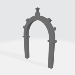 PI3_ARCO_TAQUILE_2.png Download 3MF file Taquile Arch • Object to 3D print, varivarivilca