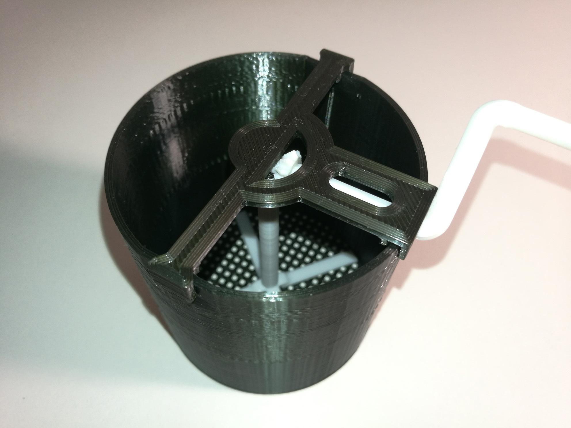SugarSifter3.jpg Télécharger fichier STL Distributeur de sucre en poudre / tamis à farine • Plan pour impression 3D, tothmiki91