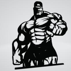 Gym Wall Art Decoration.png Download OBJ file Gym Wall Art Decoration • Model to 3D print, Slashlist