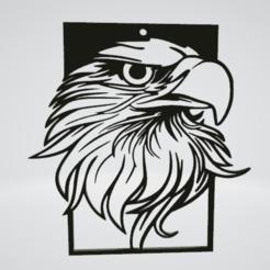 Eagle Wall Sculpture 2D poster.png Download OBJ file Eagle Wall Sculpture 2D poster • 3D print model, Slashlist