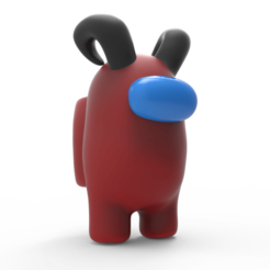 1.png Download OBJ file Between us - Skin with Horns • 3D printing model, alelchub