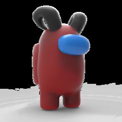 1.png Télécharger fichier OBJ Entre nous - La peau avec des cornes • Objet pour imprimante 3D, alelchub