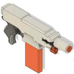 Stryfe_Gun.jpg Download free STL file NERF Modulus Stryfe Motorized Dart Gun Model • 3D print model, jakabo27
