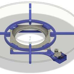 Overall_Picture.jpg Download free STL file Yet Another Motorized Lazy Susan Spinning Platform • Design to 3D print, jakabo27