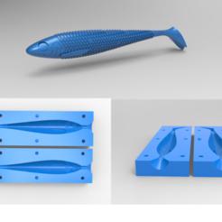 Başlıksız-1.png Download STL file Fishing Lure and Mold 2 3D model • 3D printable template, Anest