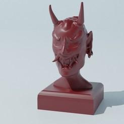 Oni_1 copy.jpg Download free STL file Oni • Template to 3D print, Trikeo_Arts