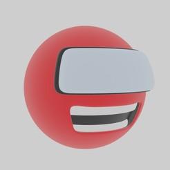 0001.jpg Télécharger fichier OBJ gratuit balle avec visage :v • Objet imprimable en 3D, saick090
