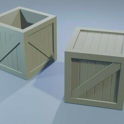 construction_boxes.jpg Download STL file Construction Set - Boxes - Wargamming Terrain • 3D print design, Inxx
