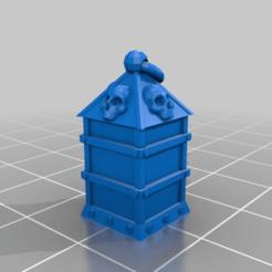 Télécharger fichier 3D gratuit La lanterne - Quête du marteau de guerre, onebitpixel