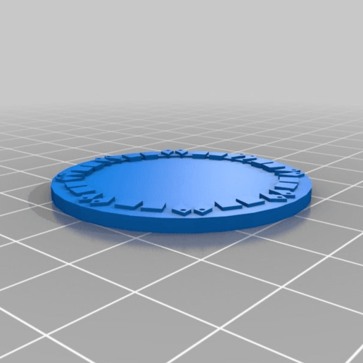 orky_objective_token_base01.png Download free STL file orky objective marker and base • 3D printer object, onebitpixel