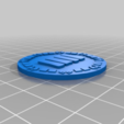 orky_objective_tokens_four.png Download free STL file orky objective marker and base • 3D printer object, onebitpixel