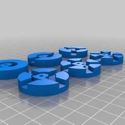 prime_climb_-_tokens.jpg Télécharger fichier STL gratuit Prime Climb - Jetons • Design pour impression 3D, onebitpixel