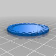 orky_objective_token_base02.png Download free STL file orky objective marker and base • 3D printer object, onebitpixel