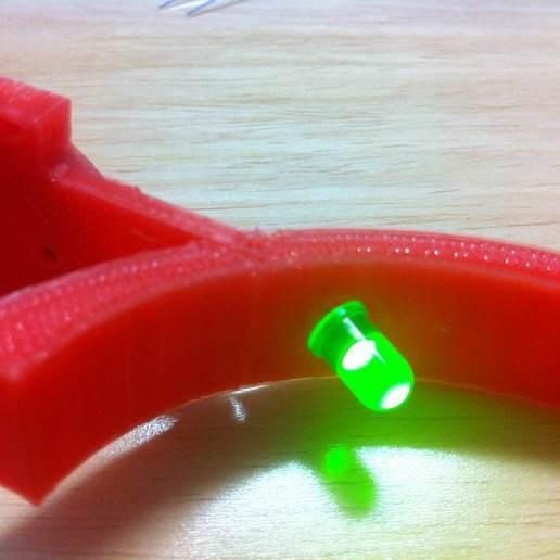 IMG_1812.JPG Télécharger fichier STL gratuit Cadre photo LED flottant • Plan imprimable en 3D, onebitpixel