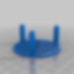 Télécharger fichier STL gratuit Rack de séchage personnalisé 60mm • Plan à imprimer en 3D, onebitpixel