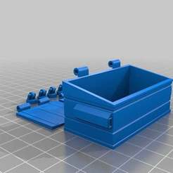 dumpster_diving.jpg Download free STL file Dumpster Diving • 3D printable template, onebitpixel